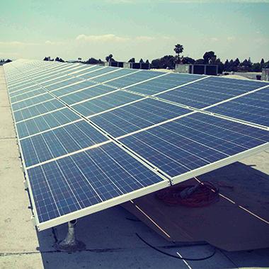 Commercial solar in Garden Grove, California